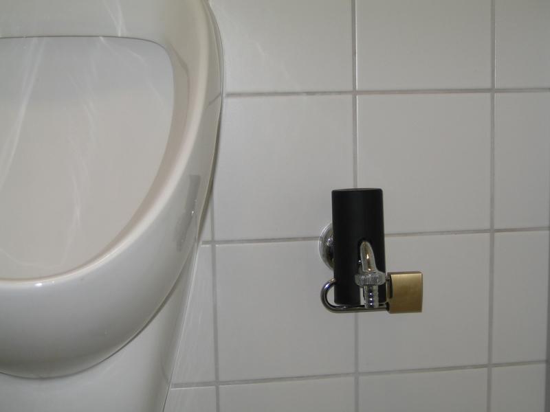 Wasserhahn sichern mit der abschließbaren